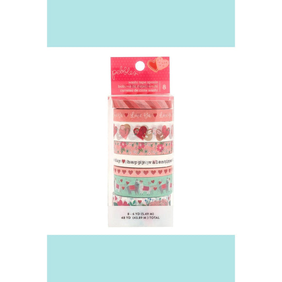 American Crafts - Pebbles - Loves Me - Washi Tape