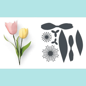 Sizzix - Thinlits Die Set 8PK - Tulip