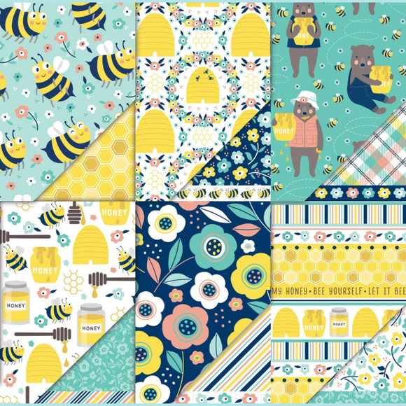 Dare 2B Artzy - All the Buzz Collection Variety Pack (12 Sheets)