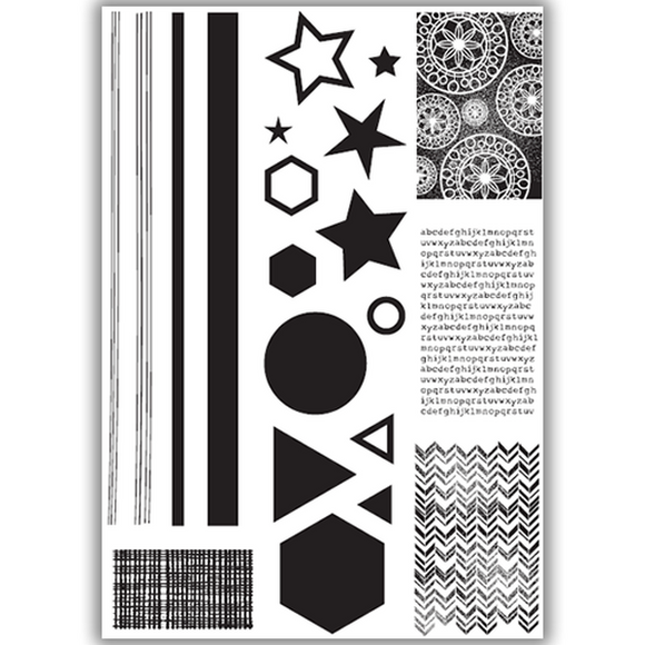 Julie Hickey - Create With Shapes Stamp Set