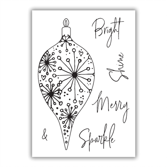 Julie Hickey - Bright Bauble Stamp Set