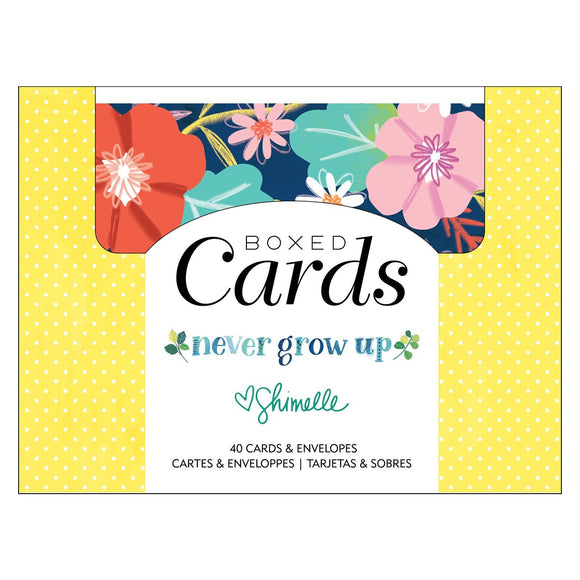 American Crafts - Never Grow Up - Box of Cards