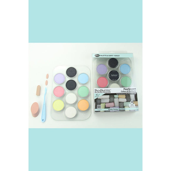 PanPastel Hanging Kits - Pearlescent Colors & Mediums