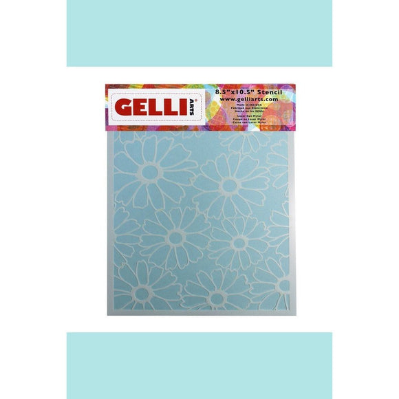 Gelli Arts - Flower Stencil