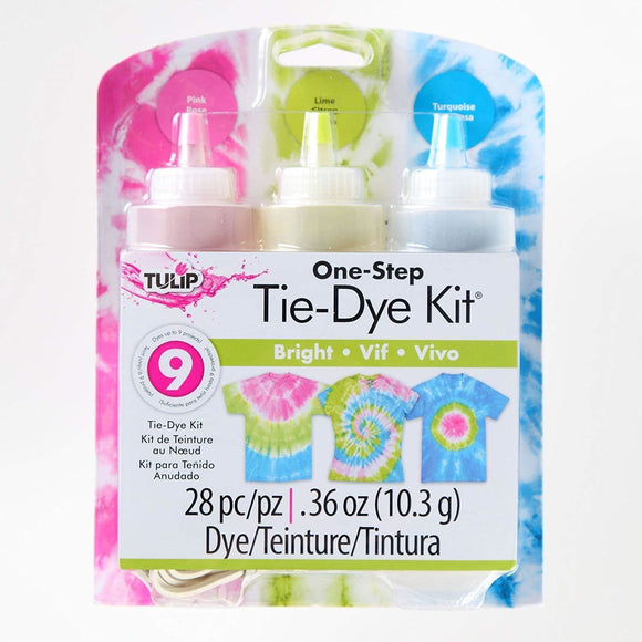 Tulip 3 Bottle Tie Dye Kit Bright
