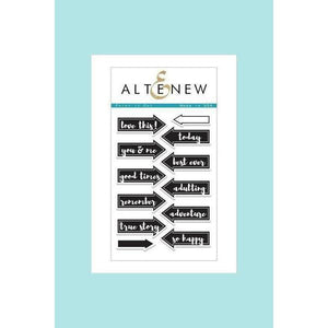 Altenew Point It Out Stamp Set & Die Bundle
