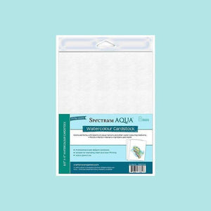 Crafter's Companion Watercolour Cardstock - Pkg of 8 Sheet