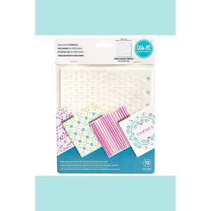 We R Memory Keepers  WRMK - Precision Press Advanced - Precision Stencils (12 piece)