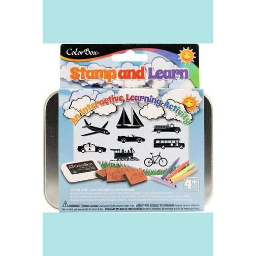 ColorBox® Stamp and Learn Kits Going Places