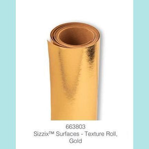 "Sizzix Accessory - Texture Roll 12"" x 48"" Gold"