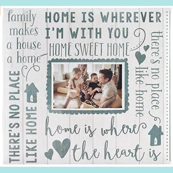 MBI Expressions - Home Sweet Home Top Load Scrapbook Album - 12x12 - Pages with Photo Opening