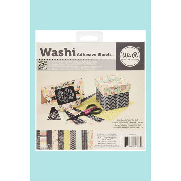 We R Memory Keepers - WRMK -  Washi Sheet Pad - Chalkboard