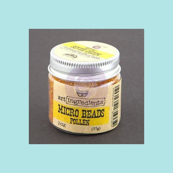 Antique White Prima Marketing - Finnabair -  Art Ingredients Micro Beads Embellishment