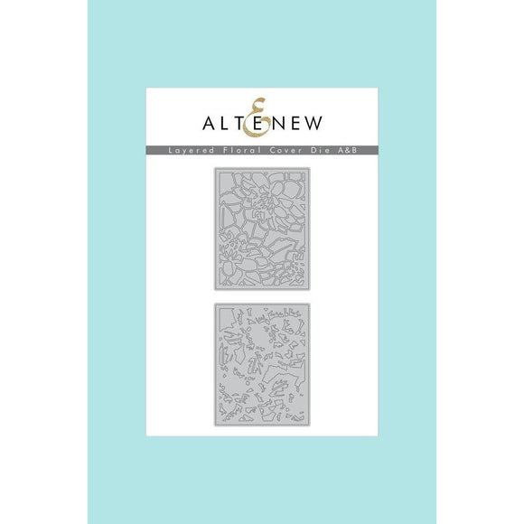 Altenew Layered Floral Cover Die A & B