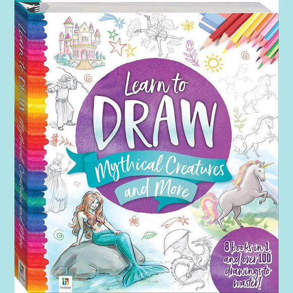 Learn to Draw Mythical Creatures and More by Hinkler