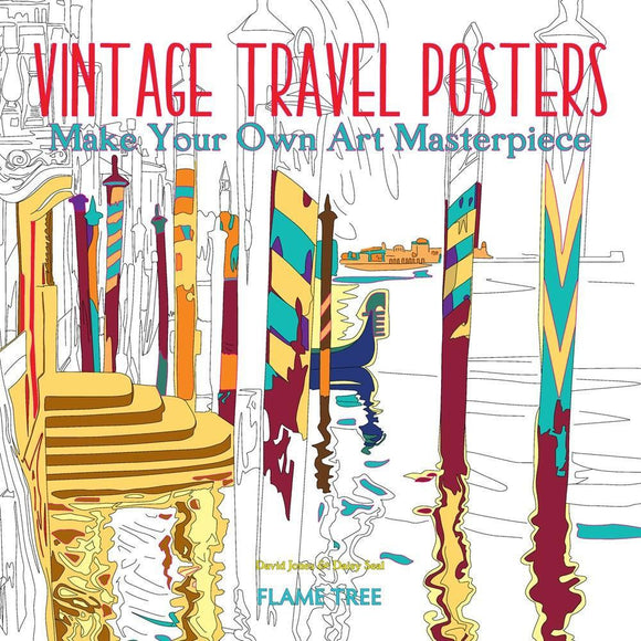Vintage Travel Posters: Make Your Own Art Masterpiece