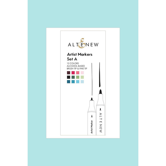 Altenew - Artist Markers Set A - 12 colours