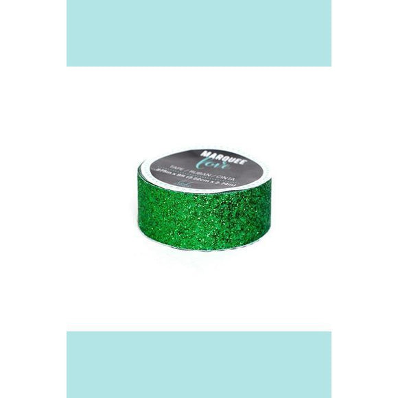 American Crafts - Heidi Swapp - Marquee Glitter Washi Tape - Dark Green