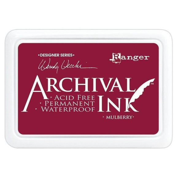 Ranger - Wendy Vecchi - Archival Ink Pads mulberry