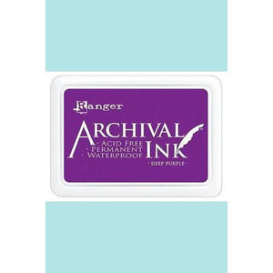 Ranger - Archival Ink Pads & Re-Inkers DEEP PURPLE