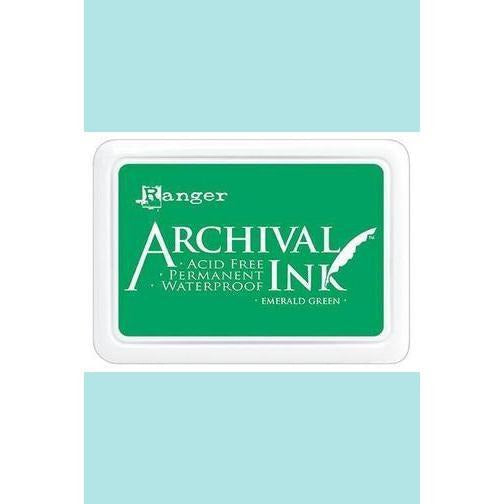 Ranger - Archival Ink Pads & Re-Inkers EMERALD GREEN