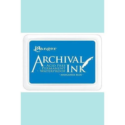 Ranger - Archival Ink Pads & Re-Inkers MANGANESE BLUE