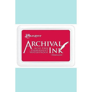 Ranger - Archival Ink Pads & Re-Inkers VERMILLION