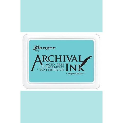 Ranger - Archival Ink Pads & Re-Inkers AQUAMARINE