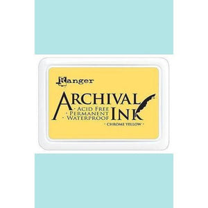 Ranger - Archival Ink Pads & Re-Inkers CHROME YELLOW