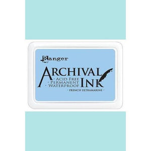 Ranger - Archival Ink Pads & Re-Inkers FRENCH ULTRAMARINE