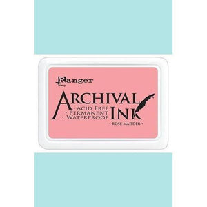 Ranger - Archival Ink Pads & Re-Inkers ROSE MADDER