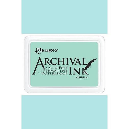 Ranger - Archival Ink Pads & Re-Inkers VIRIDIAN