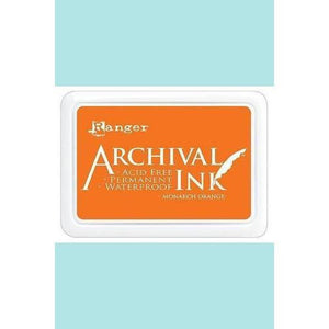 Ranger - Archival Ink Pads & Re-Inkers MONARCH ORANGE