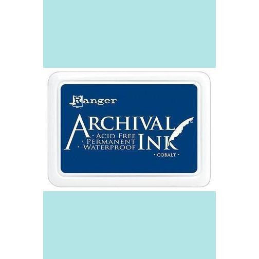Ranger - Archival Ink Pads & Re-Inkers COBALT