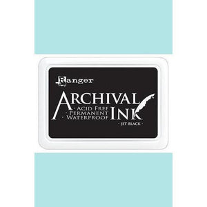 Ranger - Archival Ink Pads & Re-Inkers JET BLACK