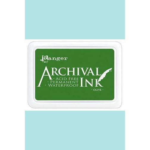 Ranger - Archival Ink Pads & Re-Inkers OLIVE