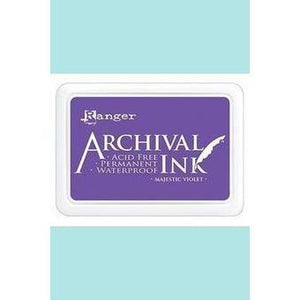 Ranger - Archival Ink Pads & Re-Inkers MAJESTIC VIOLET