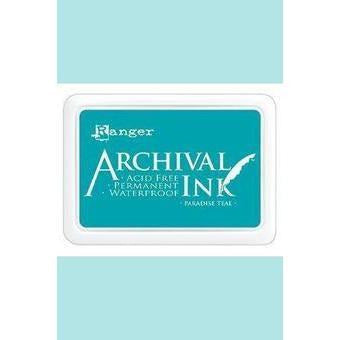 Ranger - Archival Ink Pads & Re-Inkers PARADISE TEAL