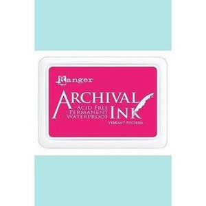 Ranger - Archival Ink Pads & Re-Inkers VIBRANT FUCHSIA