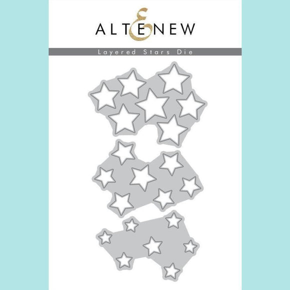 Altenew - Layered Stars Die Set