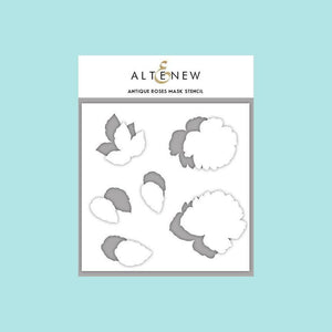 Altenew - Antique Roses - Stamp, Die and Mask Stencil