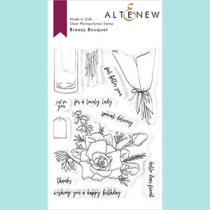 Altenew - Breezy Bouquet Stamp and Die Set