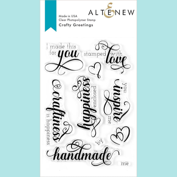 Altenew - Crafty Greetings Stamp Set
