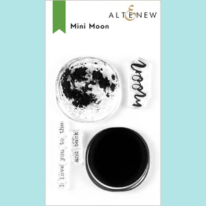 Altenew - Mini Moon Stamp and Die Set