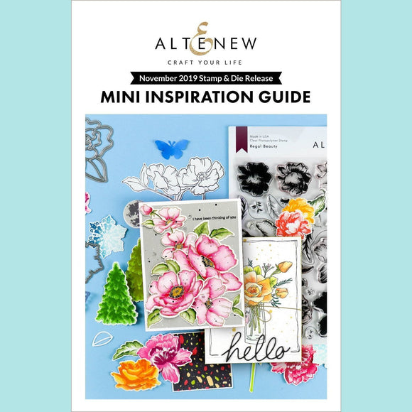 Altenew - A Thing of Beauty Mini Inspiration Guide - November 2019 Release