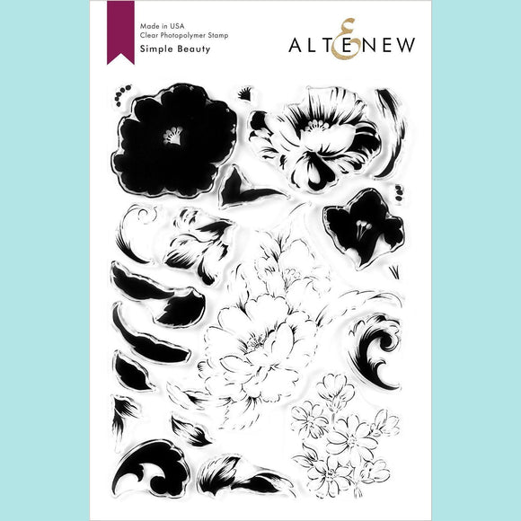 Altenew - Simple Beauty Stamp and Die