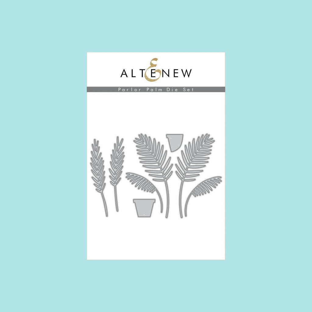 Snow Altenew  - Parlor Palm Die Set
