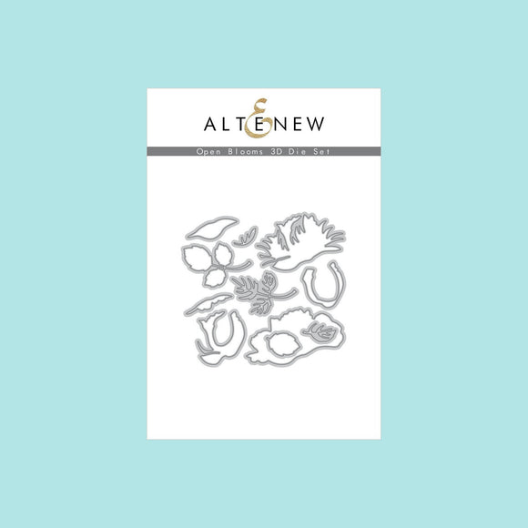 Altenew - Open Blooms 3D Die Set