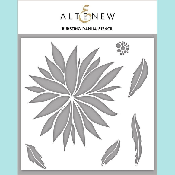 Altenew - Bursting Dahlia Stencil