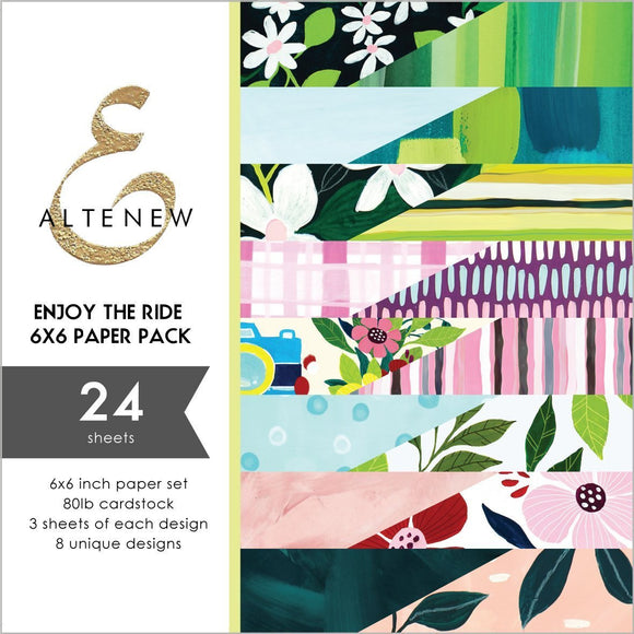 Altenew - Enjoy the Ride 6x6 Paper Pack
